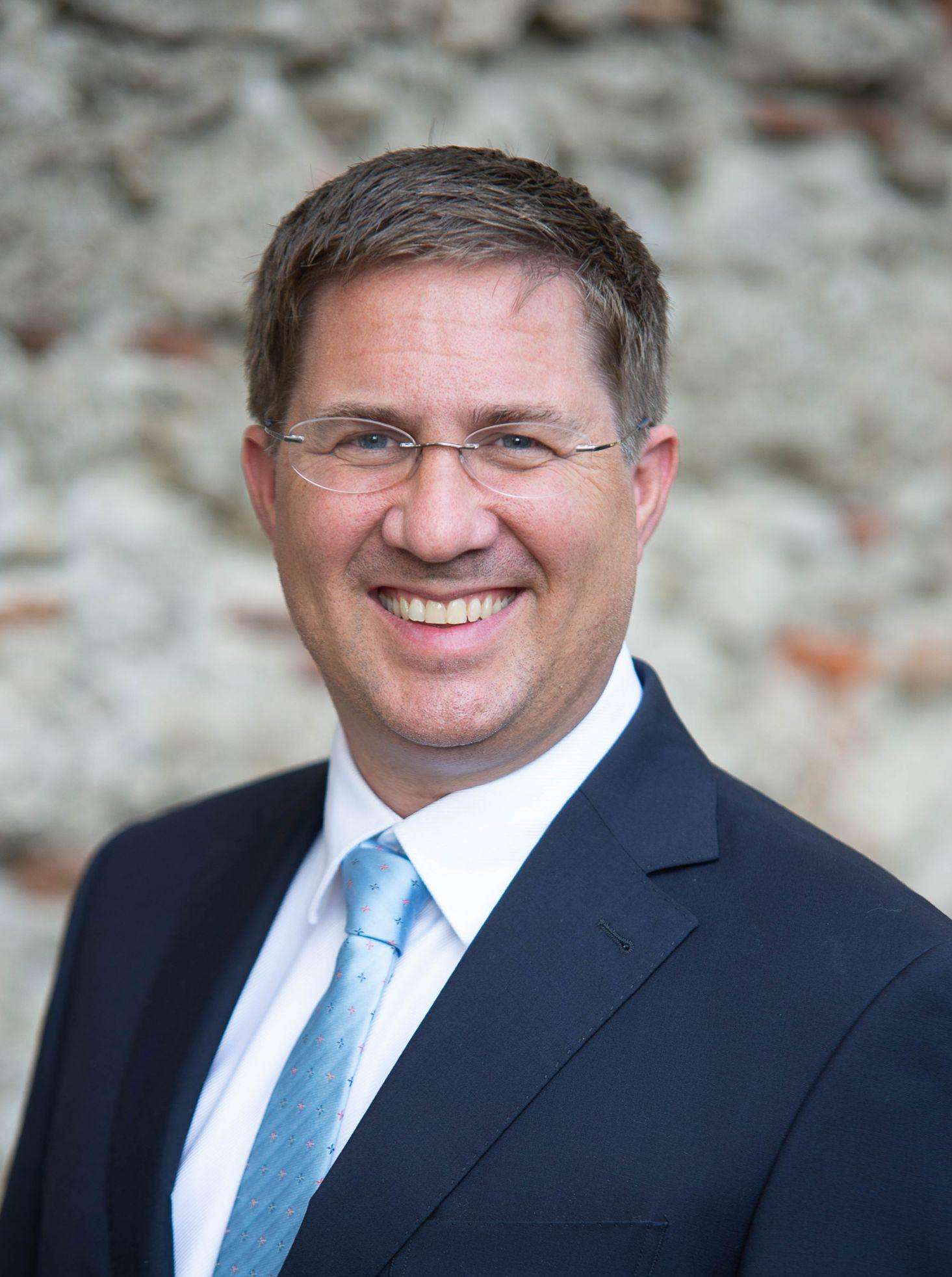 Dr. Andreas Rabl, Bürgermeister der Stadt Wels