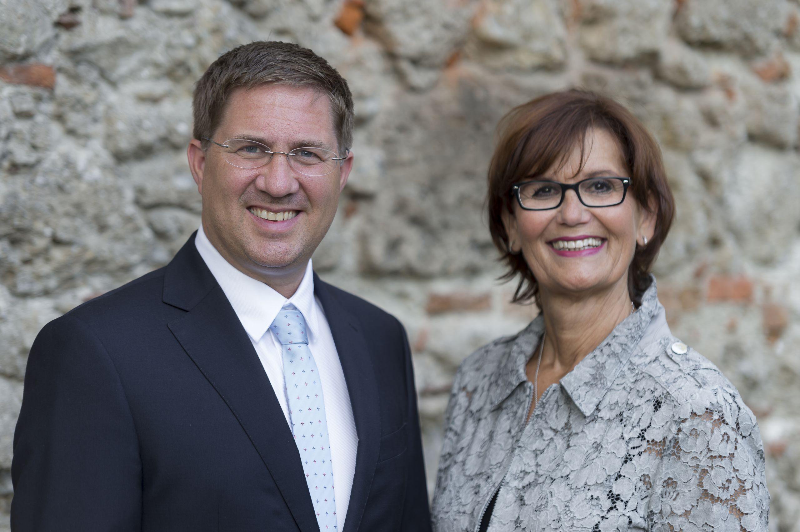 Bürgermeister mit Stadträtin Josseck-Herdt