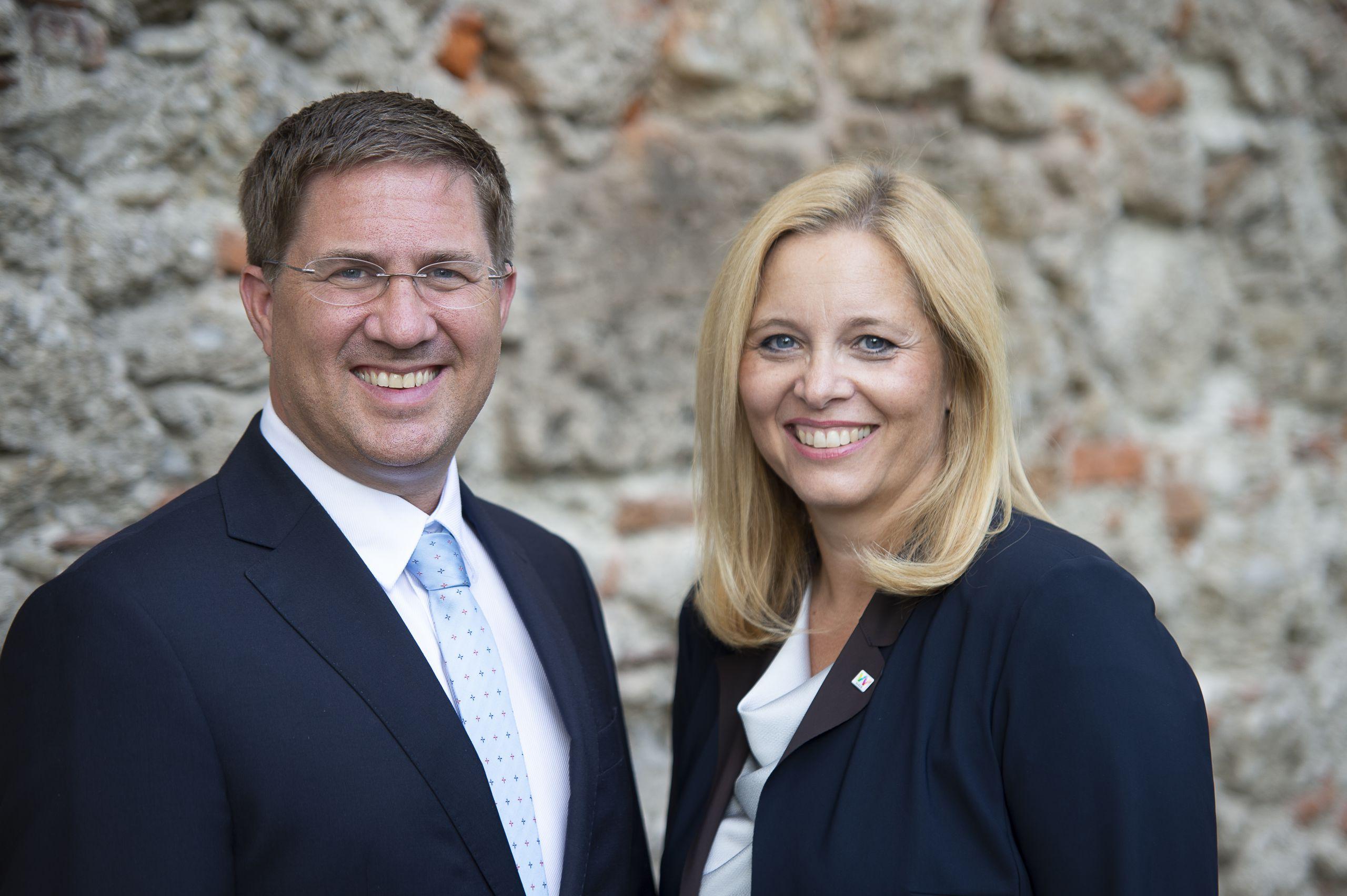 Bürgermeister Dr. Andreas Rabl und Vizebürgermeisterin Christa Raggl-Mühlberger
