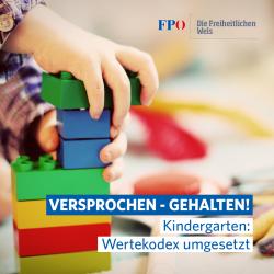 24 Kindergarten Wertekodex