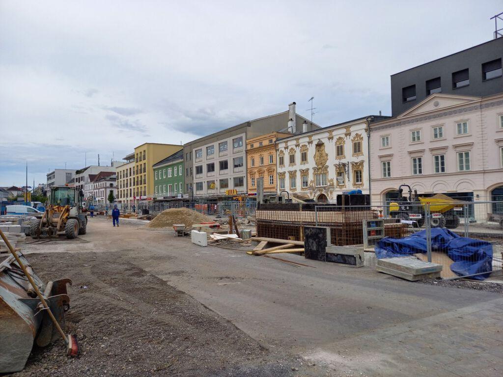 Baustelle Kaiser-Josef-Platz