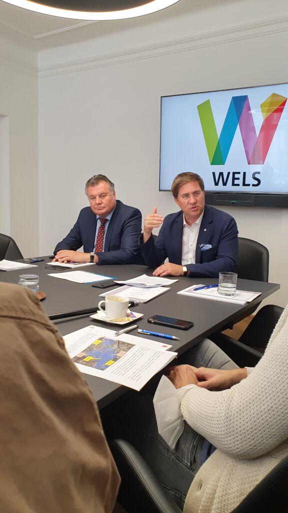 Dr. Andreas Rabl und LR Steinkellner bei einer Pressekonferenz