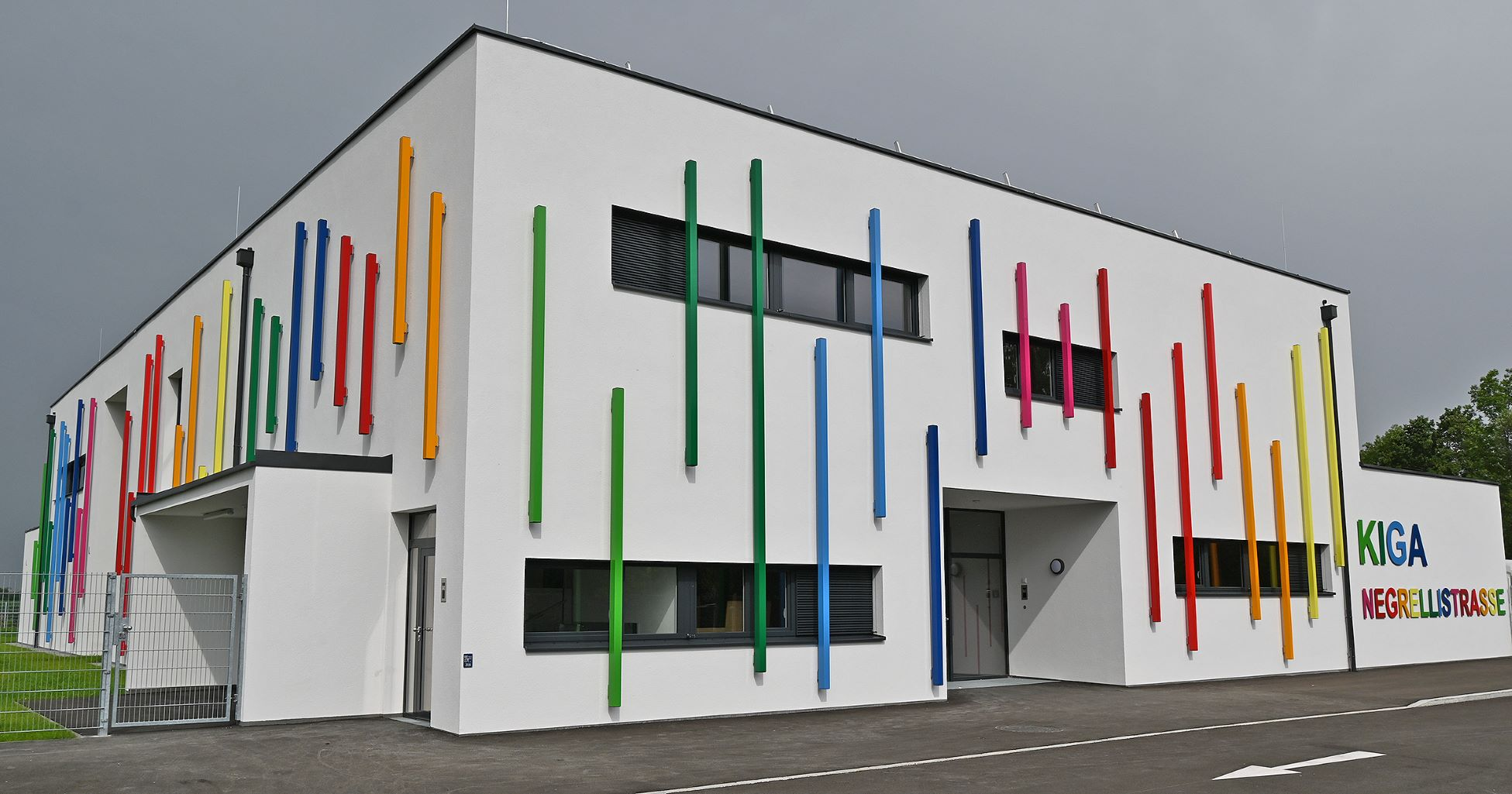 Außenansicht Kindergarten Negrellistraße