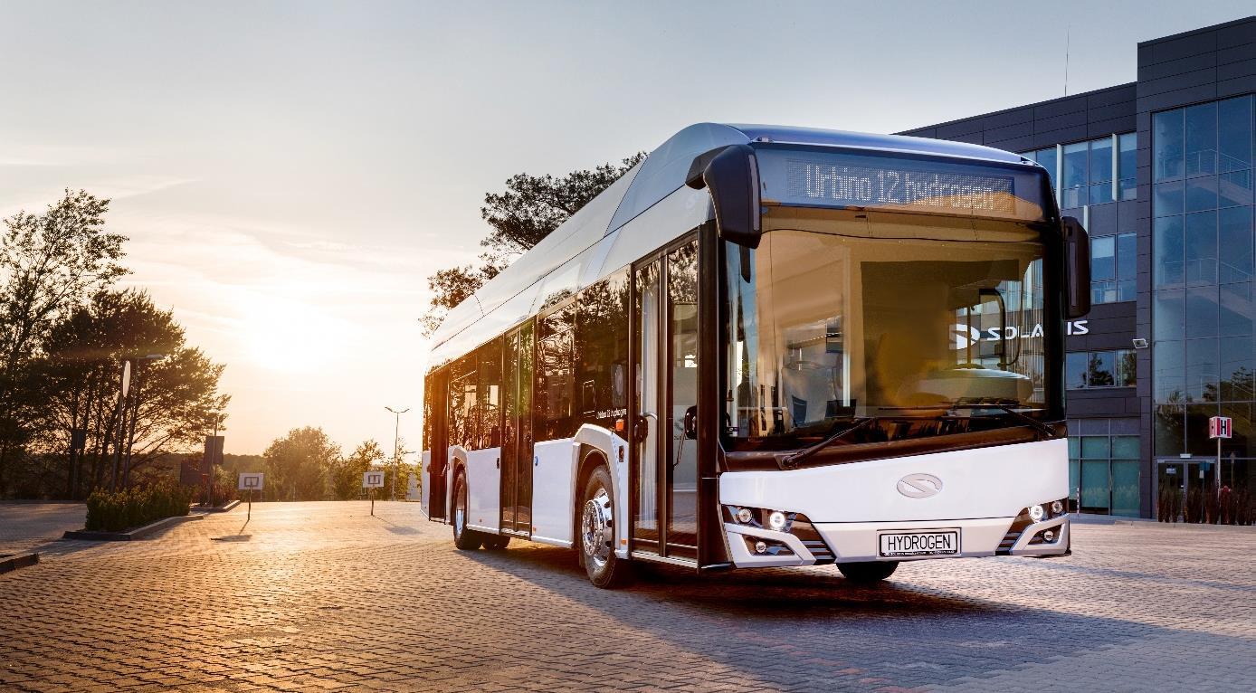 Urbino 12 Hydrogen – Quelle: 2021 Solaris Bus & Coach sp. z o.o
