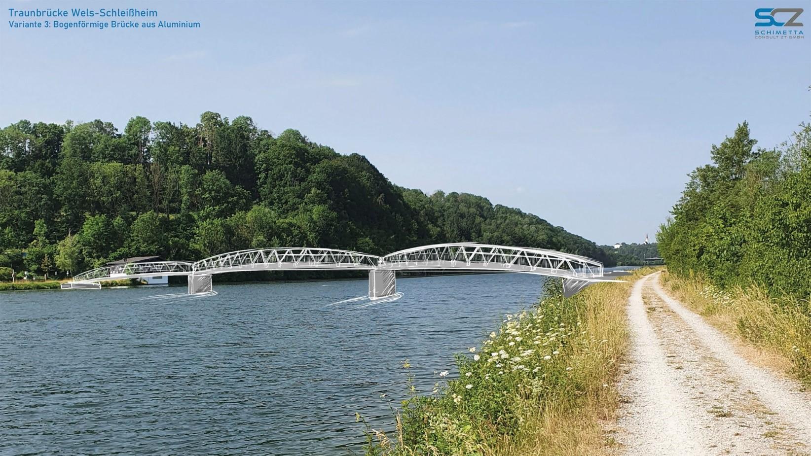 Aluminiumbrücke